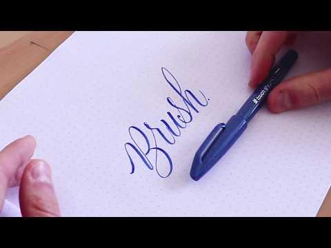 brush pens