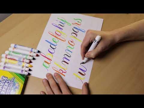 Crayola Calligraphy