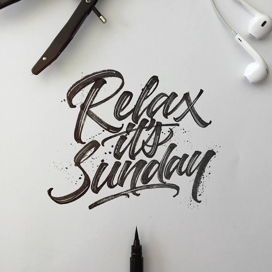 David Milan hand lettering interview - Lettering Daily -min