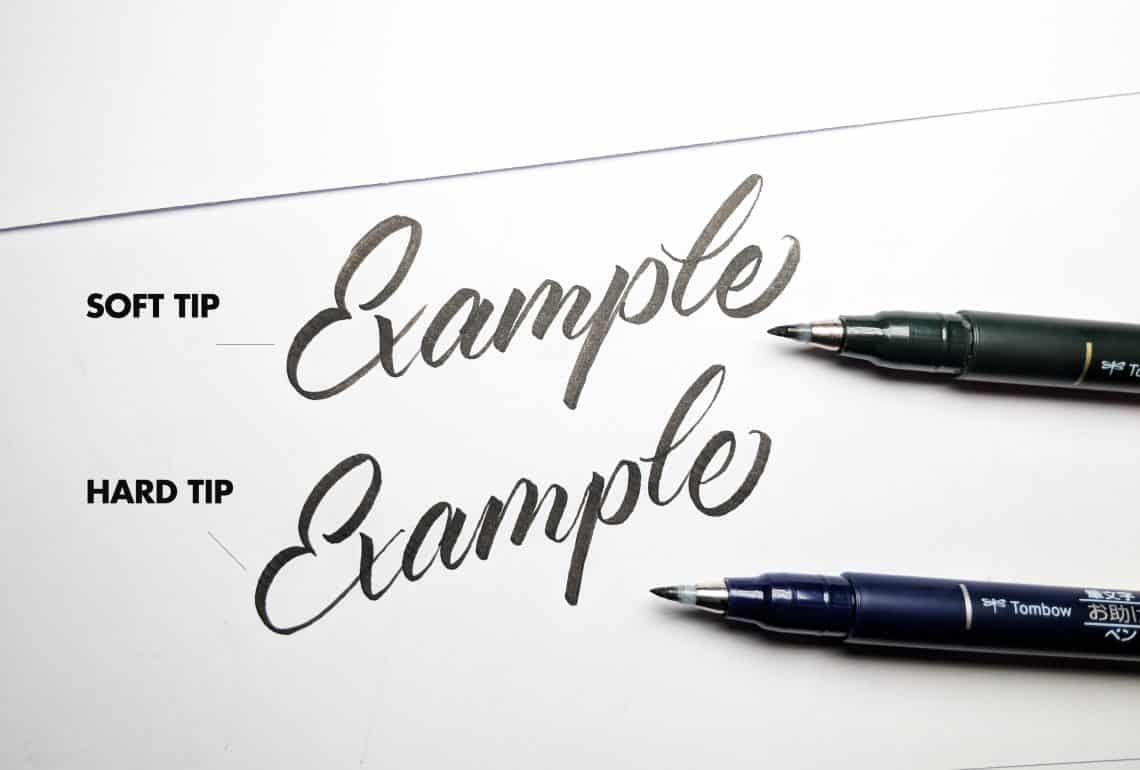 Top 5 brush pens for brush calligraphy beginners - Lettering Daily