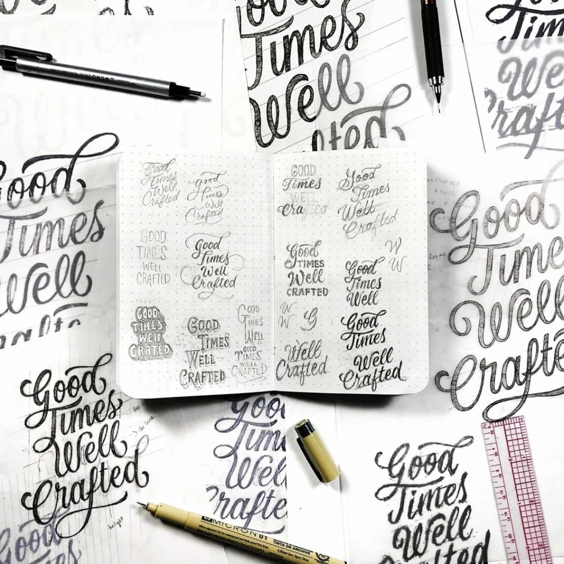 6 tips for growing your instagram lettering audience | lettering daily