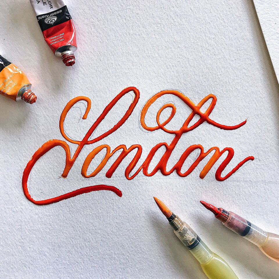 Michael Moodie hand lettering interview - Lettering Daily