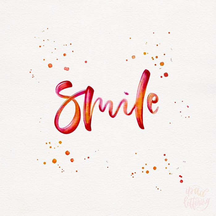 Karin Newport - Ipad Lettering- hand lettering interview - Lettering Daily -min