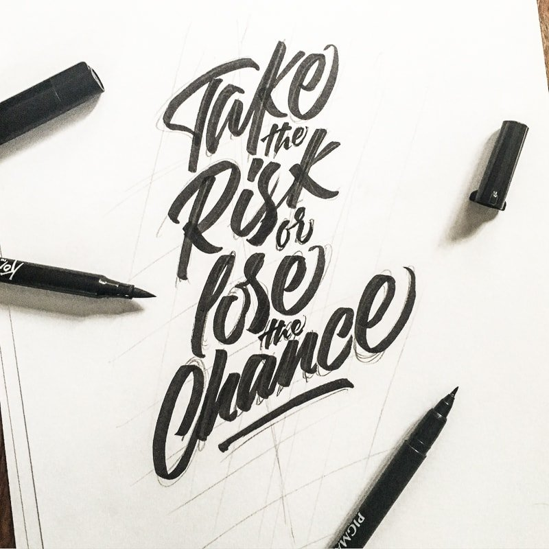 Stephane Lopes hand lettering interview - Lettering Daily