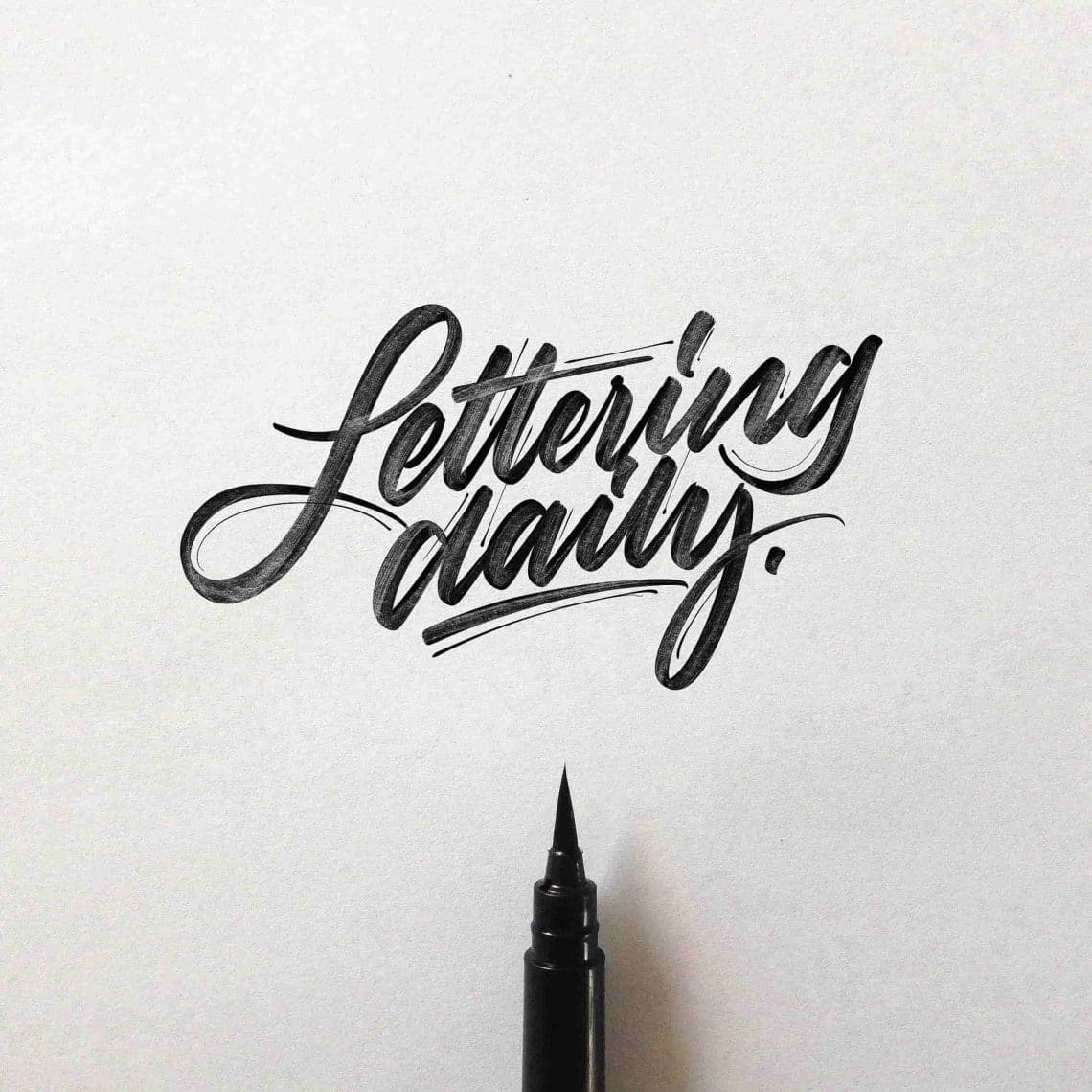 david milan hand lettering interview lettering daily
