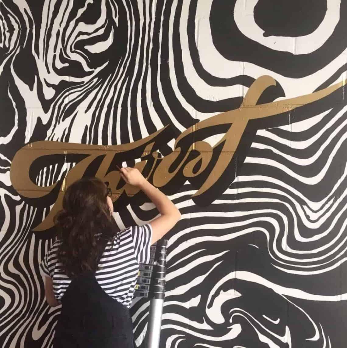 Rachel E Millar hand lettering interview - Lettering Daily -min