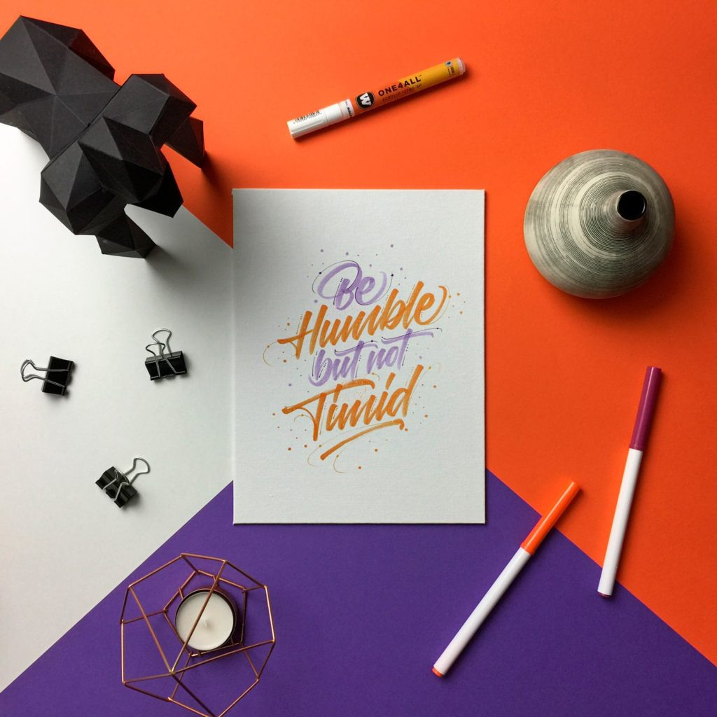 How to present your hand lettering and calligraphy - Lettering Daily