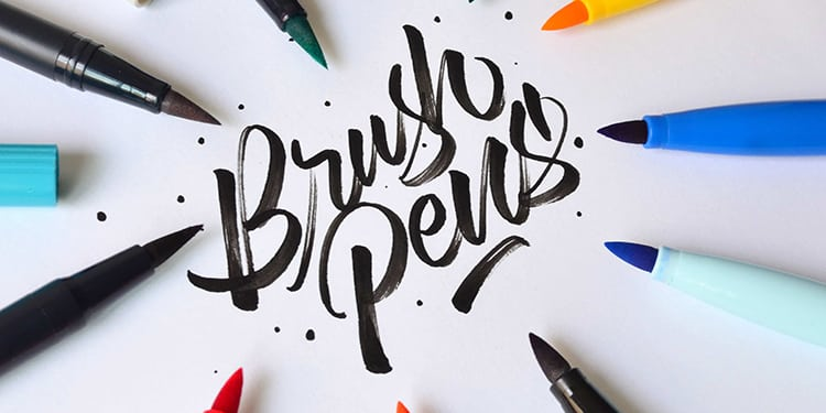 Top 5 BEST Brush Pens For Brush Calligraphy (2019