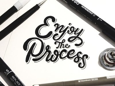 6 easy tips for hand lettering beginners - Lettering Daily