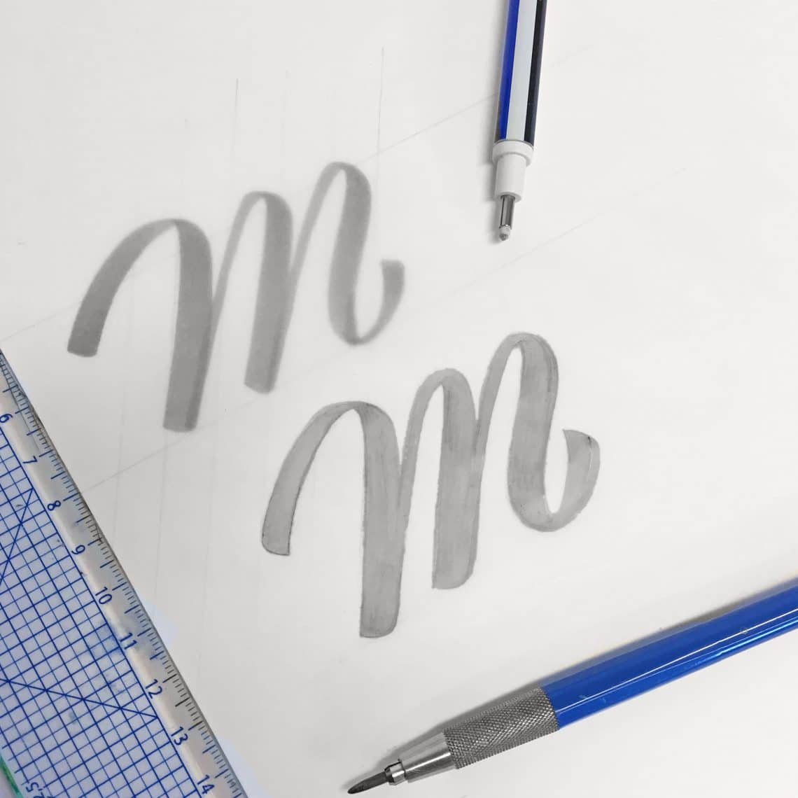 How to vectorize your hand lettering - Lettering Daily