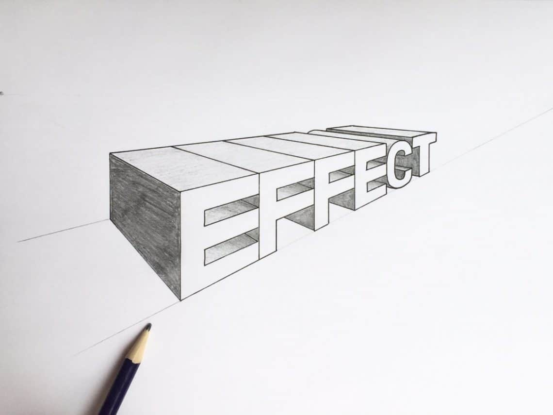 How To Draw Letters In A 2 Point Perspective 2019