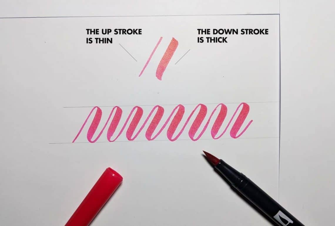 HOW TO DO MODERN CALLIGRAPHY - 3 POPULAR STYLES. Lettering Daily