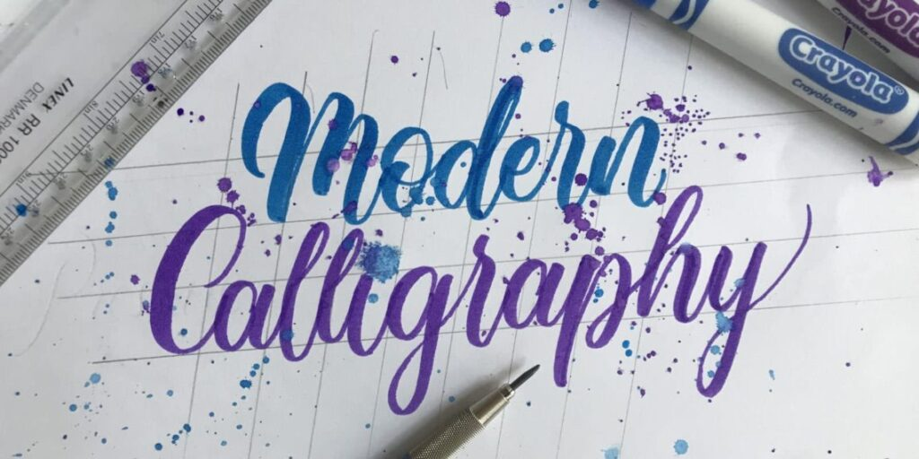 How To Do Modern Calligraphy (3 Popular Styles 2020) Lettering Daily