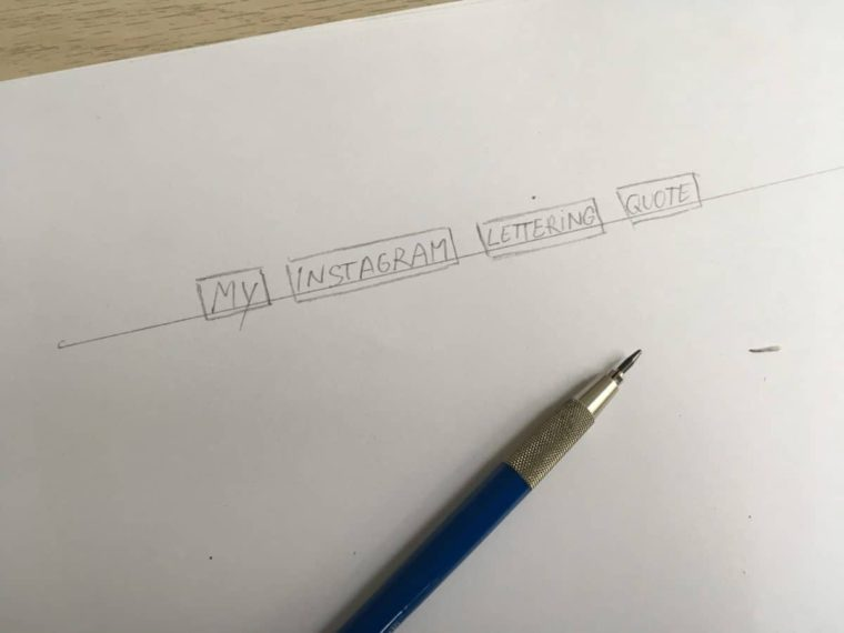 1 EASY Tip That Will Improve Your Lettering Composition - Lettering Daily
