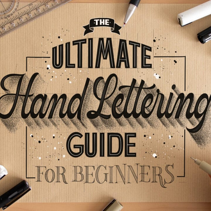 How To Create A Hand Lettering Piece in 6 Easy Steps
