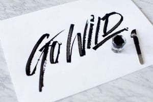 How to make a DIY folded calligraphy pen - Lettering Daily