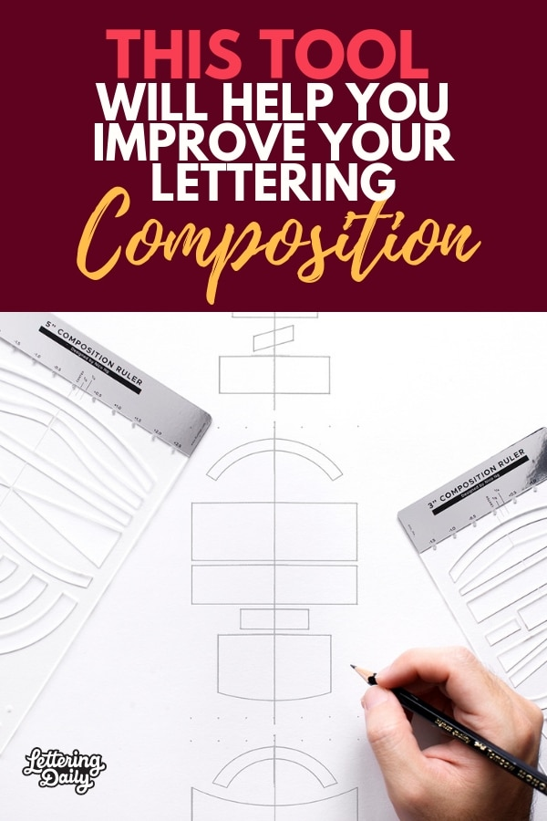 5b8163effa1 This tool will help you improve your lettering composition - Lettering Daily