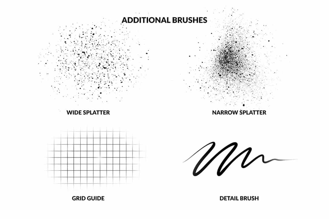 TOP 16 Procreate Brushes for Lettering & Calligraphy 2019
