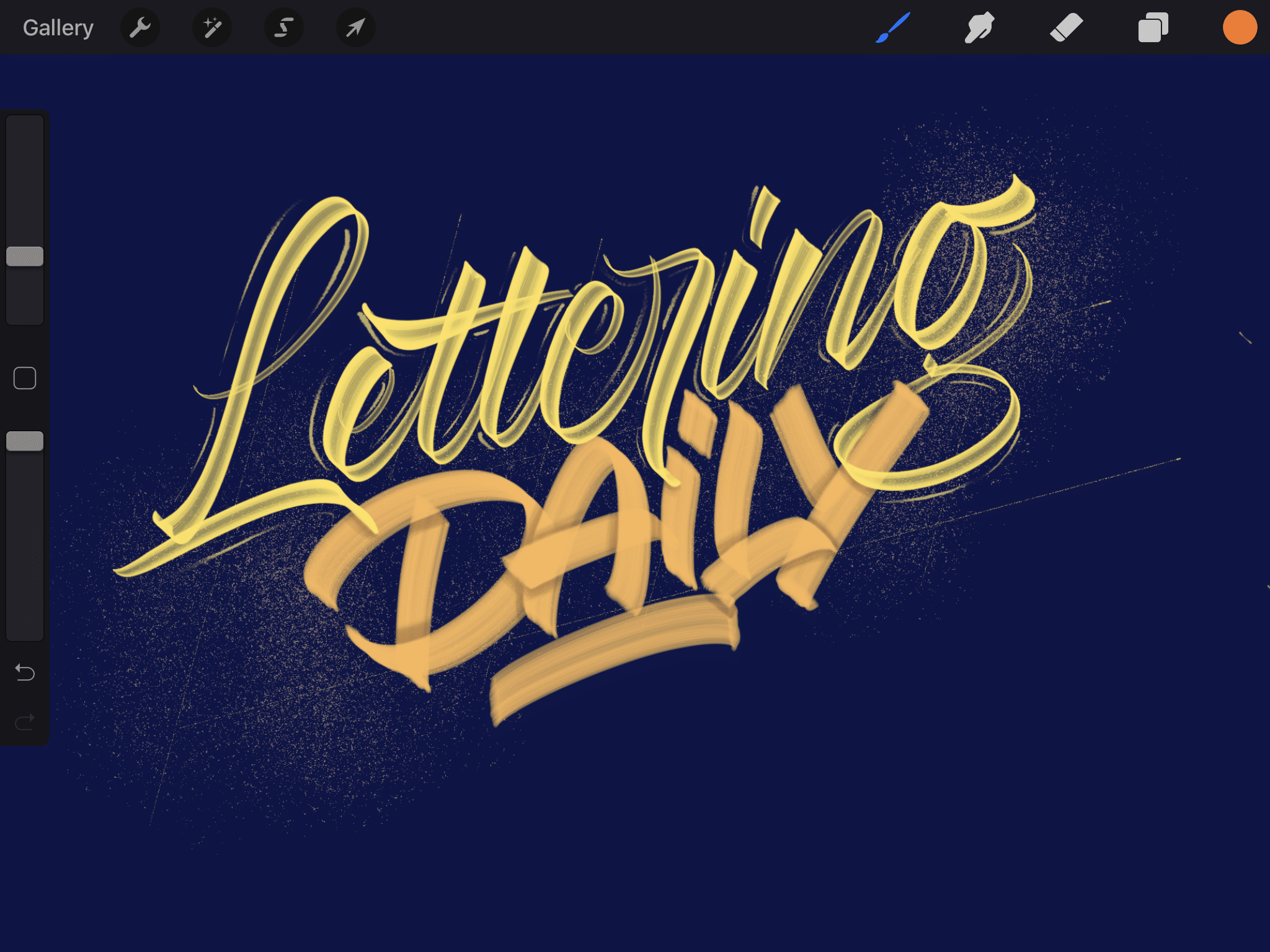 21 best procreate brushes for lettering & calligraphy - Lettering Daily