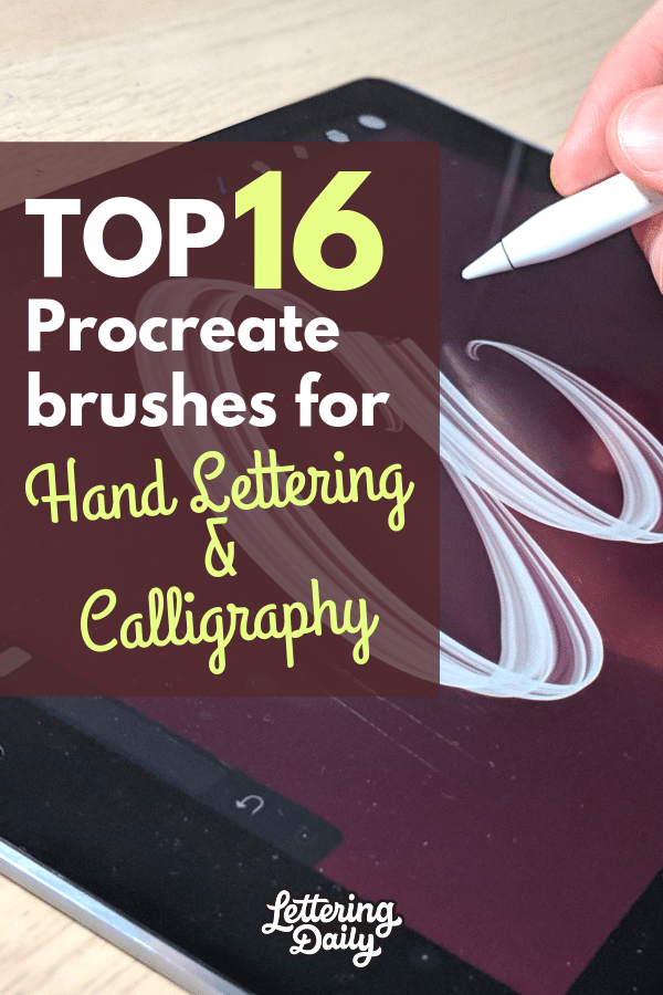 Top 16 brushes for hand lettering and calligraphy - Lettering Daily