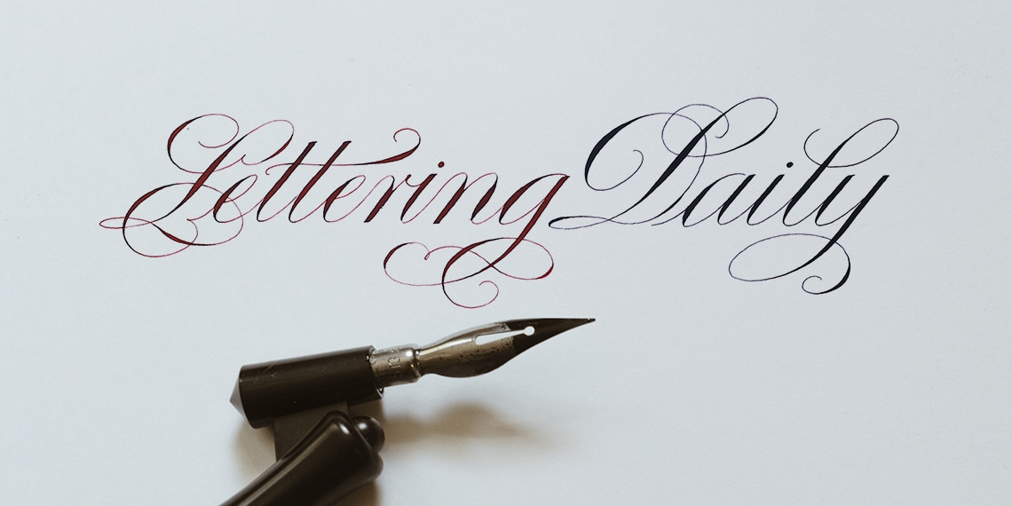 How To Get Started With Copperplate Calligraphy 2019