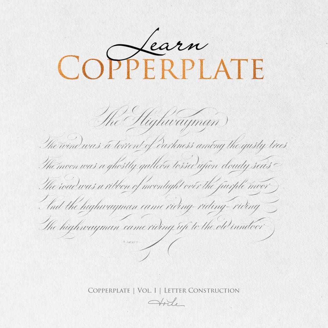 graphic regarding Copperplate Calligraphy Alphabet Printable known as How Toward Just take Begun With Copperplate Calligraphy (2019