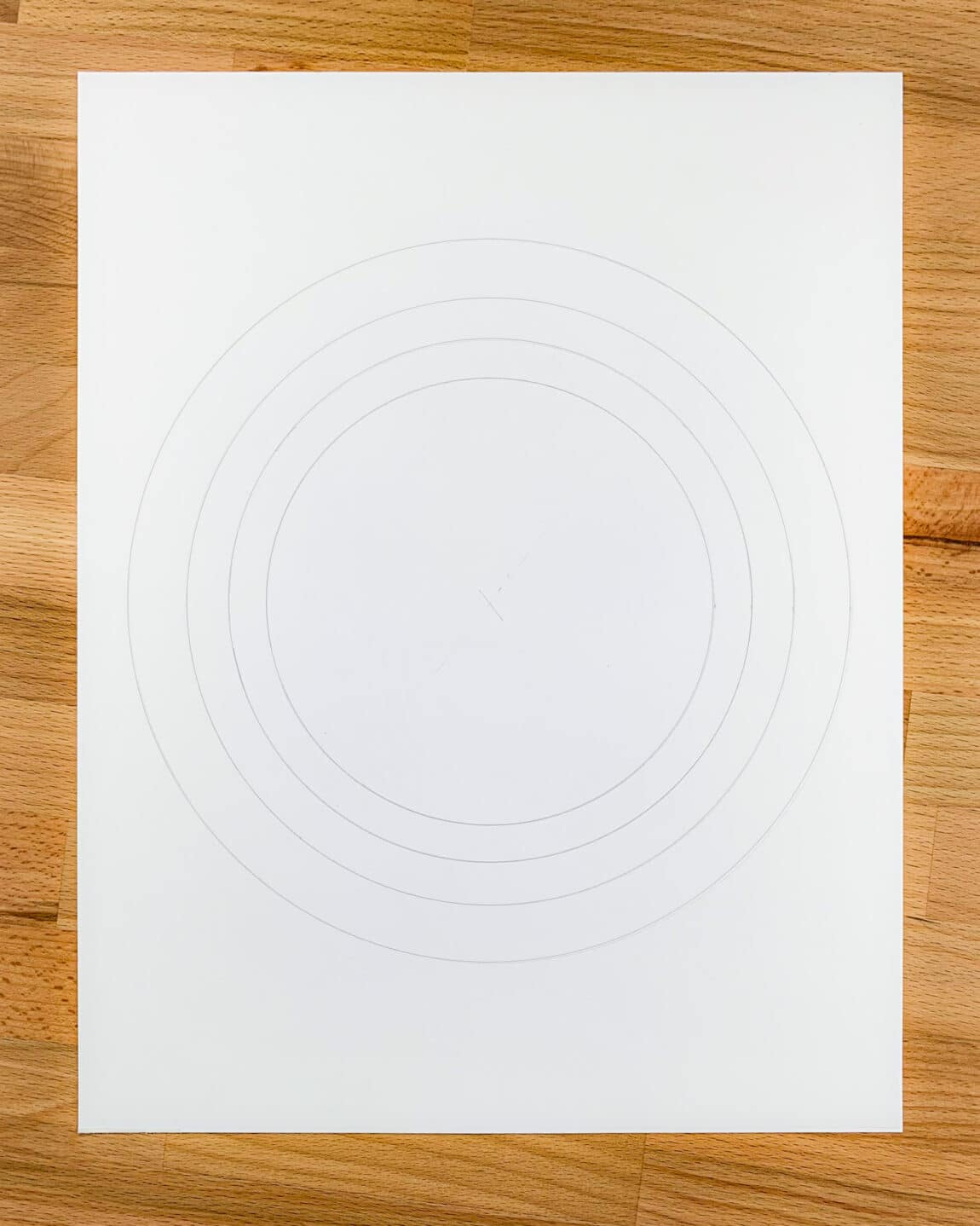 circle guidelines for the calligram piece
