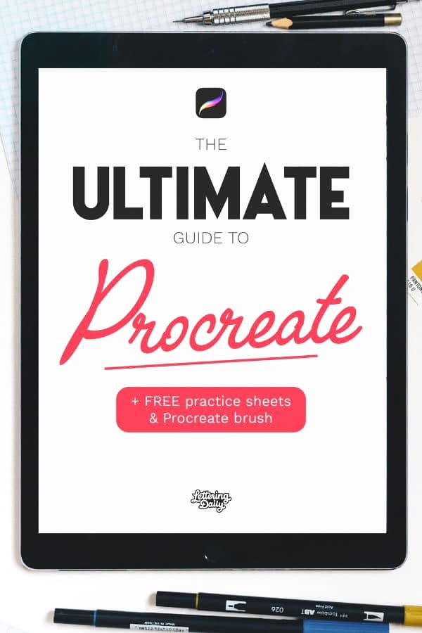 The Ultimate guide to Procreate2 - Lettering Daily-01-01-01