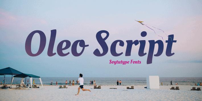 Oleo script cover