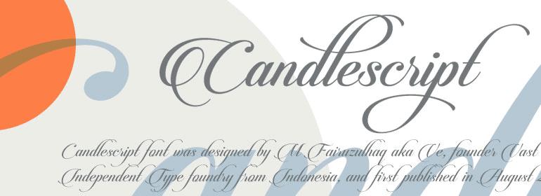 Candlescript Cover