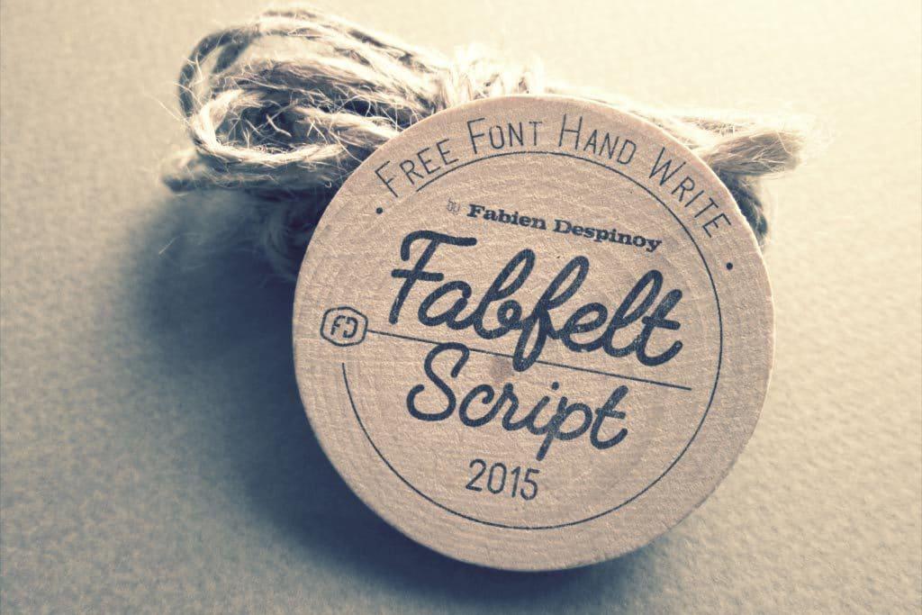 Fabfeltscript Font Cover