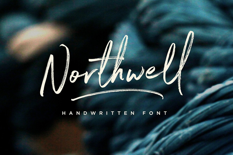 northwell-calligraphy font