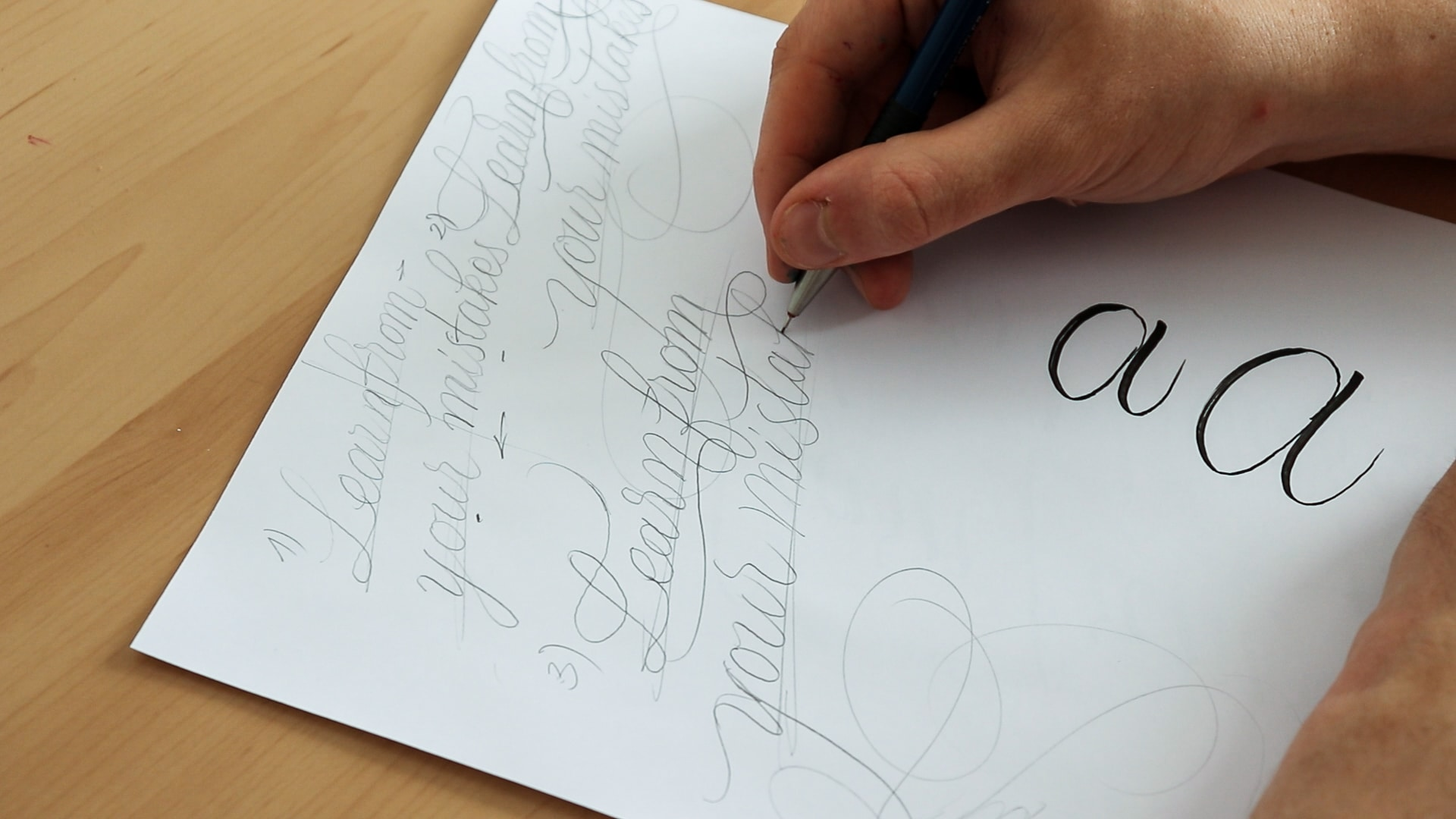 Brush Lettering tips - Lettering Daily (10 of 17)