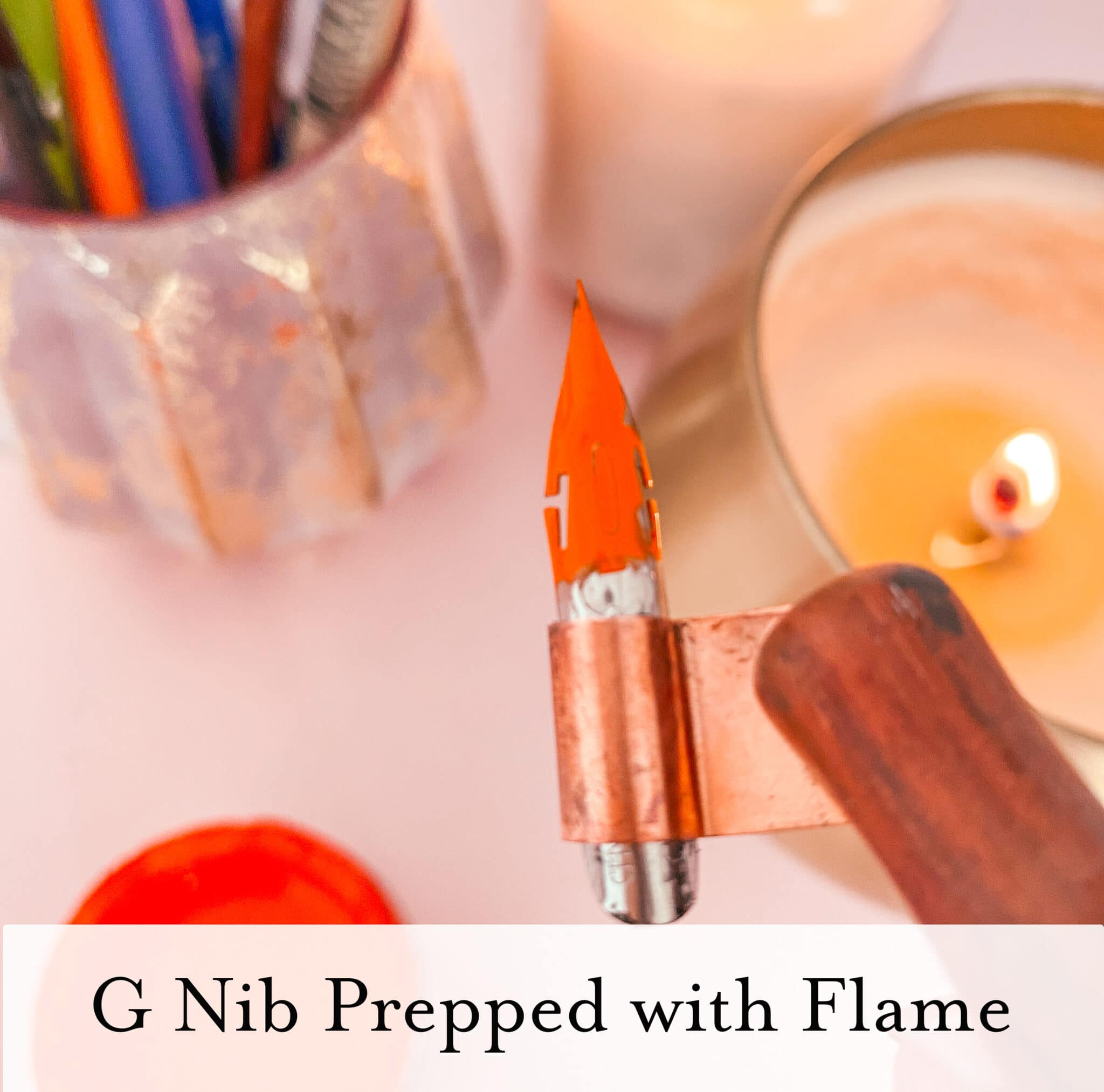 How to prepare your calligrapby nibs - Lettering Daily (5 of 9)
