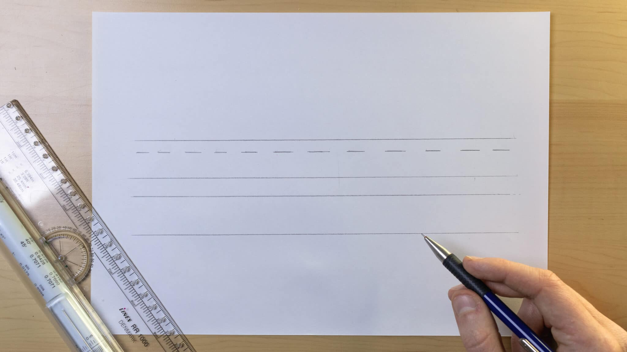 How To Make Calligraphy Guidelines Image 6 - Lettering Daily