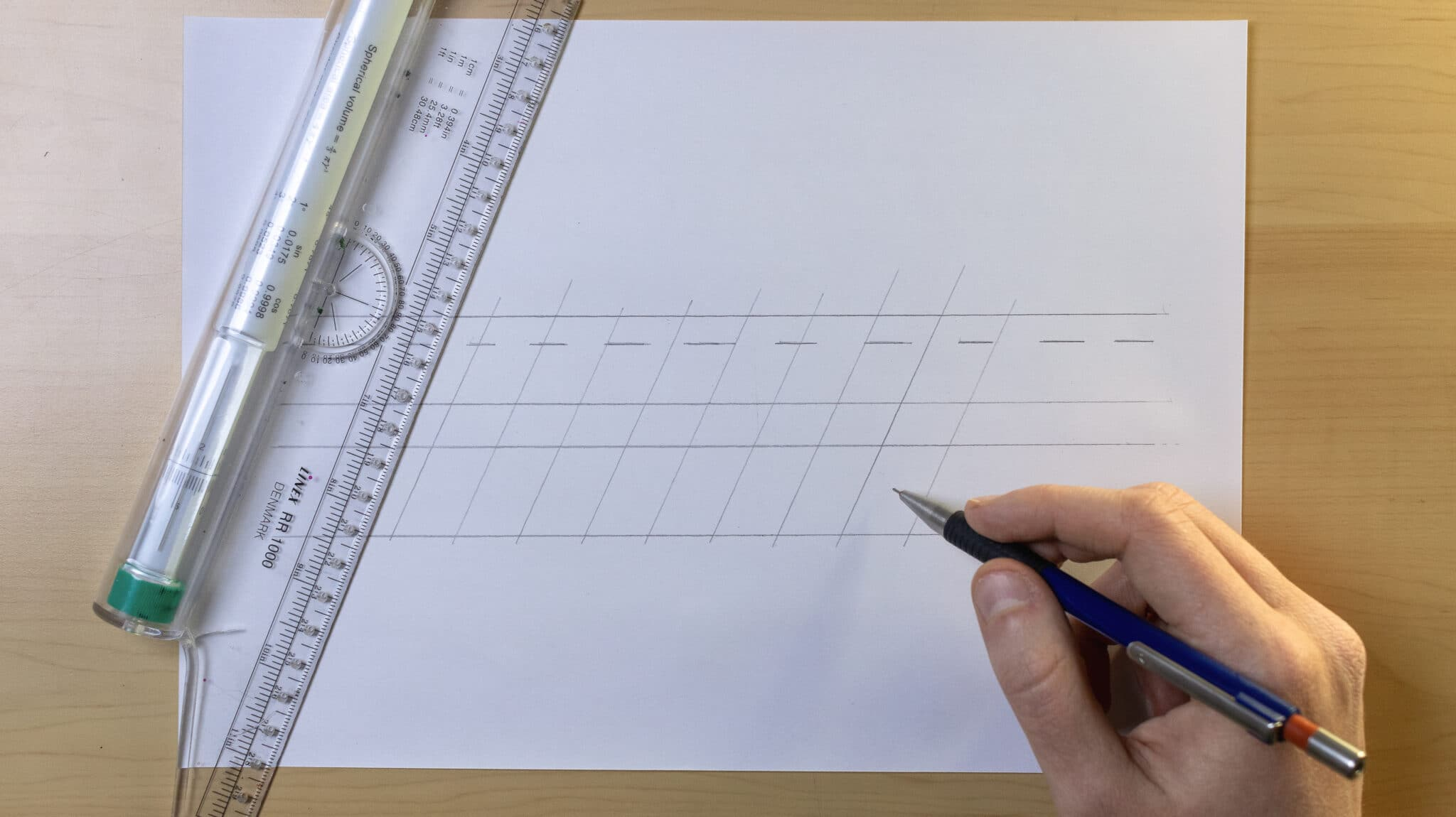 How To Make Calligraphy Guidelines Image 5 - Lettering Daily